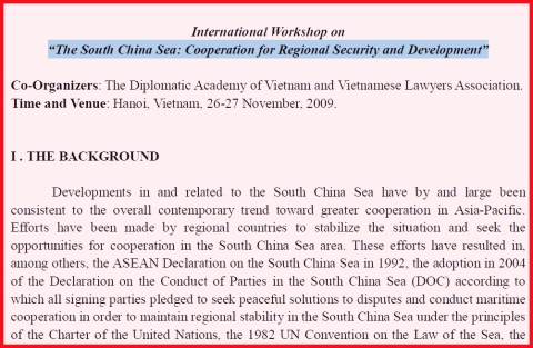 SouthChinaSeaWorkshop