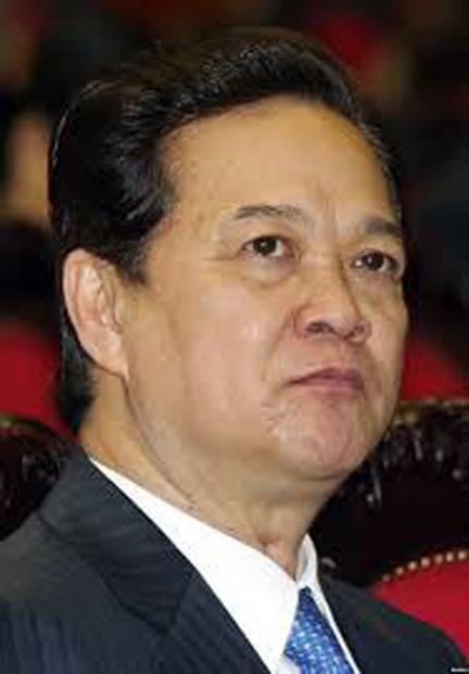 """""""Gần suốt cuộc đời tôi theo đảng, tôi không chạy, xin hay thoái thác bất cứ nhiệm vụ gì đảng giao"""" (Nguyễn Tấn Dũng)."""